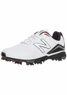 New Balance Men's NB Tour Waterproof Spiked Comfort Golf Shoe   D D US