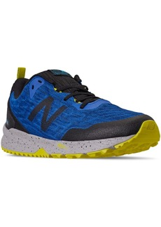 New Balance Men's Nitrel V3 Trail Running Sneakers from Finish Line