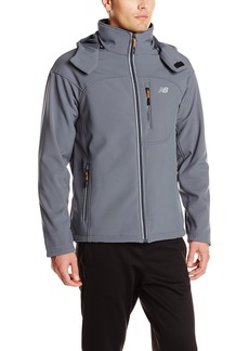 New Balance Men's Soft Shell 3 in 1 Jacket with Removable Inner Fleece