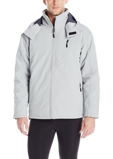 New Balance Men's Solid Soft Shell Systems Jacket