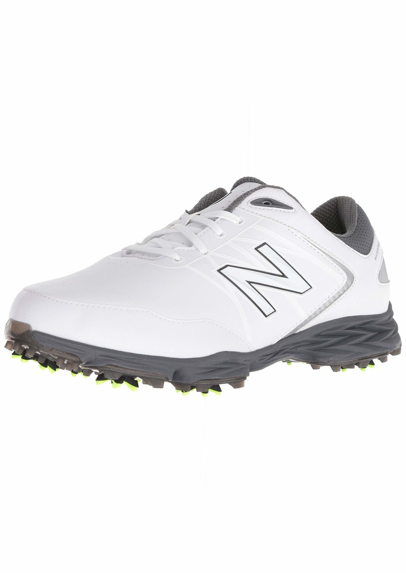 New Balance Men's Striker Waterproof Spiked Comfort Golf Shoe  11 2E 2E US