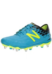 New Balance Men's Visaro 2.0 Pro SG Soccer Shoe Maldives/hi lite 9 2E US