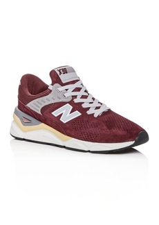 New Balance Men's X-90 Suede Lace Up Sneakers