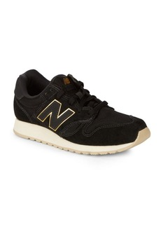 New Balance Mesh & Suede Low-Top Sneakers
