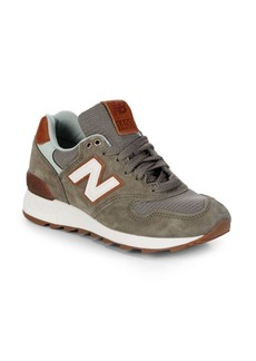 New Balance Miusa Round Toe Lace-Up Sneakers