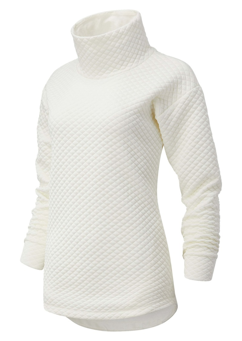 New Balance NB Heat Loft Quilted Tunic Top