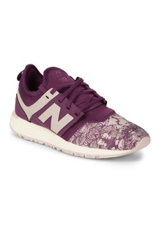 New Balance Patterned Low-Top Sneakers