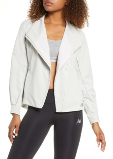 New Balance Q Speed Run Crew Jacket