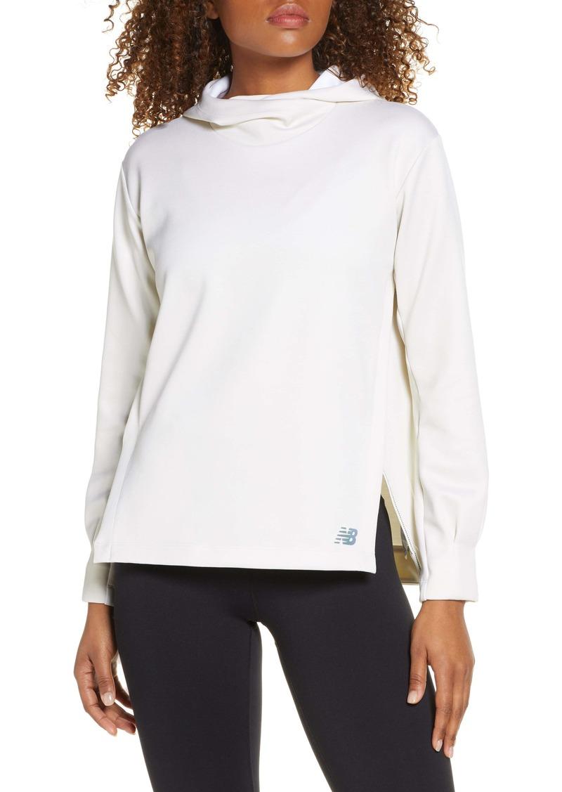 New Balance Q Speed Run Hooded Sweatshirt