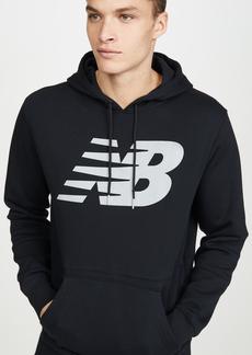 New Balance Reflective Logo Hoodie