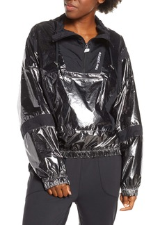 New Balance Select Metallic Quarter Zip Windbreaker