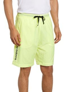 New Balance Sport Style Optiks Wind Nylon Athletic Shorts