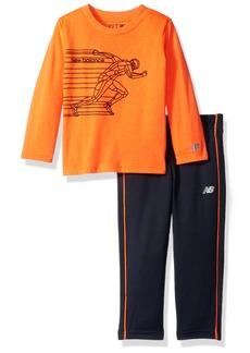 New Balance Toddler Boys' Long Sleeve Top and Pant Set
