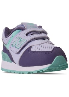 New Balance Toddler Girls 574 Stay-Put Closure Casual Sneakers from Finish Line