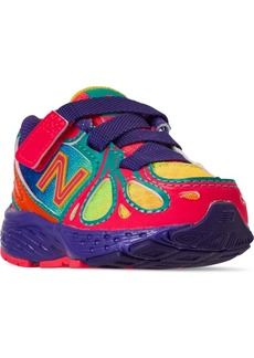 New Balance Toddler Girls 890 Stay-Put Closure Running Sneakers from Finish Line