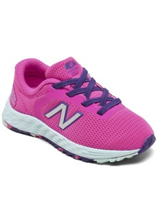 New Balance Toddler Girls Fresh Foam Arishi V2 Bungee Running Sneakers from Finish Line