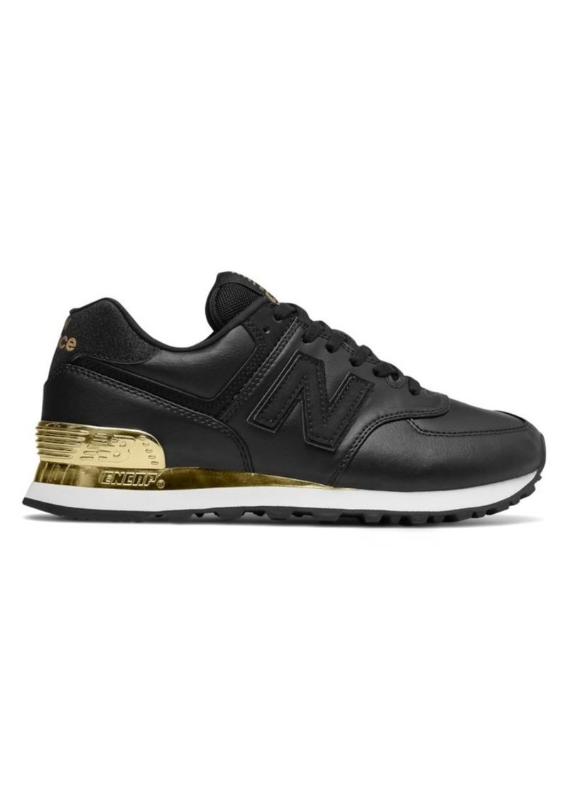 finest selection 57aa6 6a203 W574 Two-Tone Metallic Sneakers