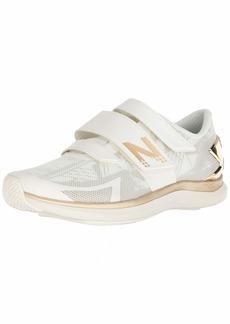 New Balance Women's 09v1 Training Shoe Cross Trainer sea Salt/Metallic Gold  B US