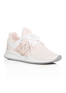 New Balance Women's 247 Knit Low-Top Sneakers