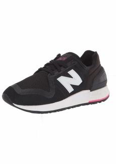 New Balance Womens 247 V3 Sneaker Black/Exuberant Pink