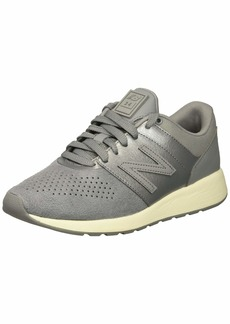 New Balance Womens 24v44 Sneaker Steel/sea Salt  B US