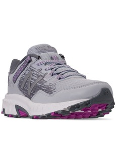 New Balance Women's 410 V6 Wide Trail Running Sneakers from Finish Line