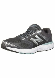 New Balance Women's 560v7 Cushioning Running Shoe Magnet/Mineral sage/Limeade  B US