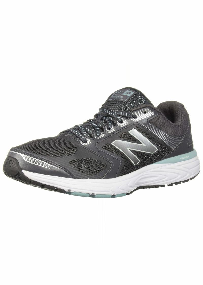 New Balance Women's 560v7 Cushioning Running Shoe Magnet/Mineral sage/Limeade  B US