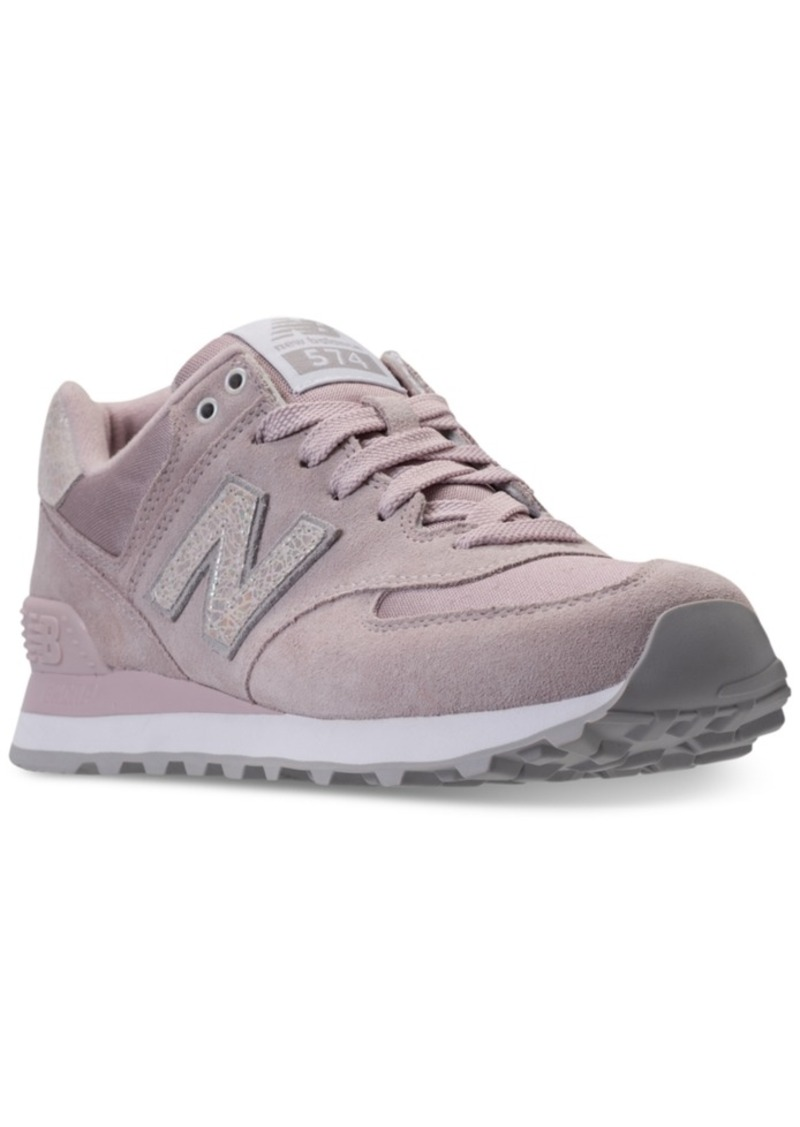 online store a5c11 913ec New Balance Women s 574 Shattered Pearl Casual Sneakers from Finish Line