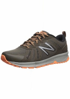 New Balance Women's 590v4 FuelCore Trail Running Shoe Light Chalkboard/Mango/rain Cloud  D US
