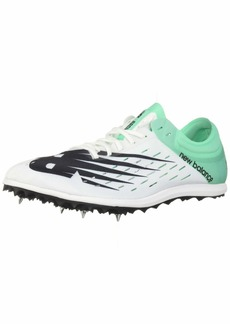 New Balance Women's 5K V6 Track Shoe White/neon Emerald  B US