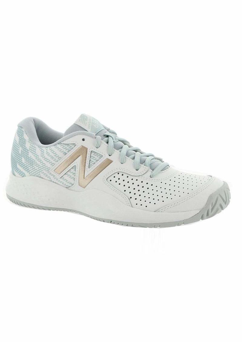 New Balance Women's 696v3 Hard Court Tennis Shoe   B US