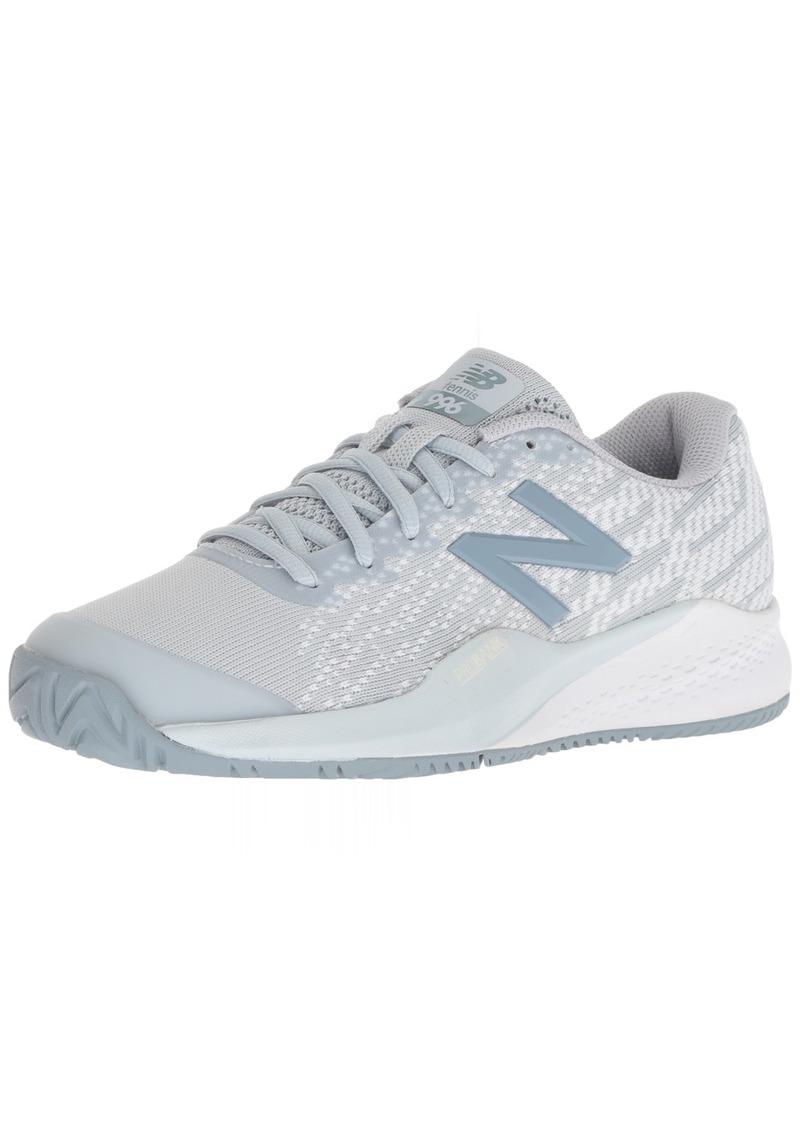 New Balance Women's 996 V3 Hard Court Tennis Shoe   B US