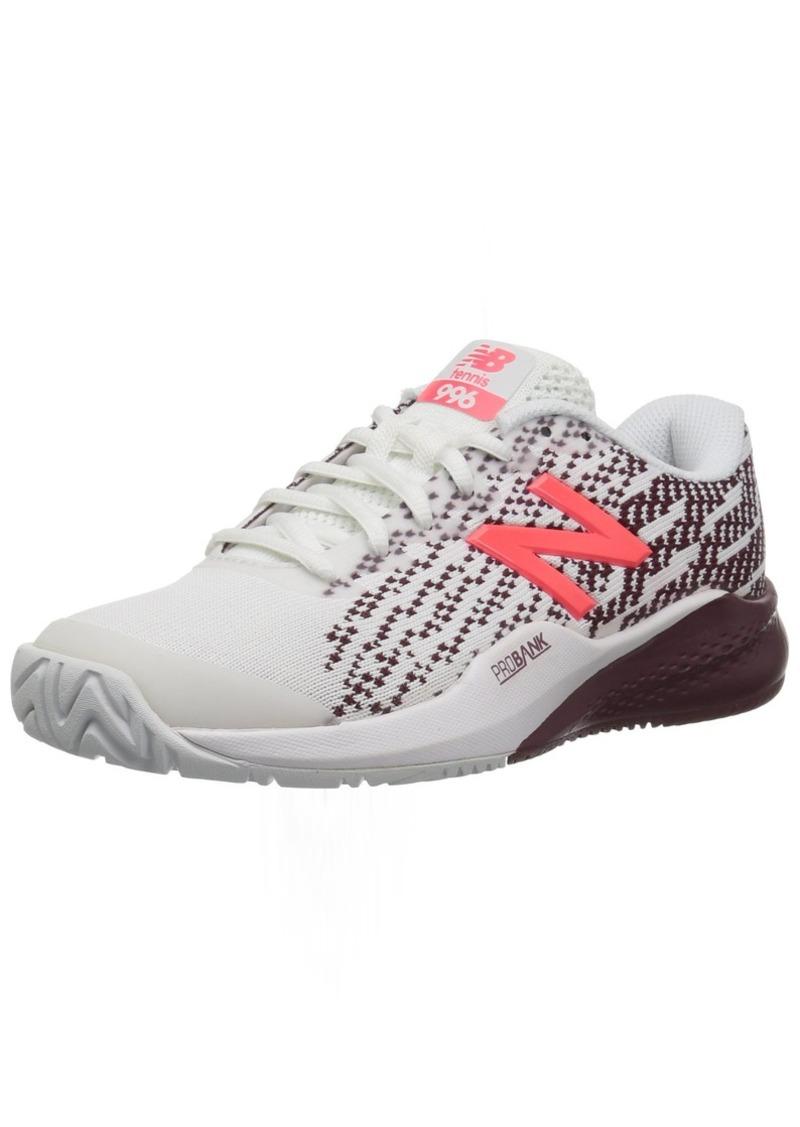 New Balance Women's 996V3 Tennis-Shoes /Oxblood 11 2E US