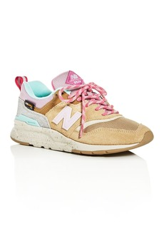 New Balance Women's 997H Mixed-Media Low-Top Sneakers