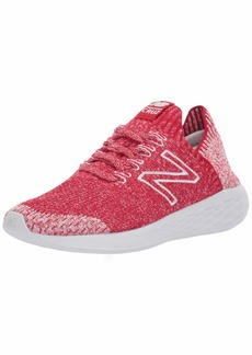 New Balance Women's Cruz Sock Fit V2 Fresh Foam Running Shoe Team red/Arctic Fox  B US