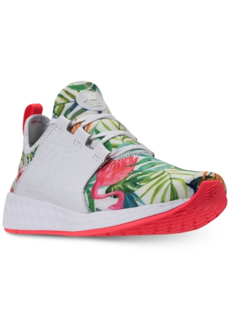 New Balance Women s Fresh Foam Cruz Wide Width Running Sneakers from Finish  Line 76c4c24b4279