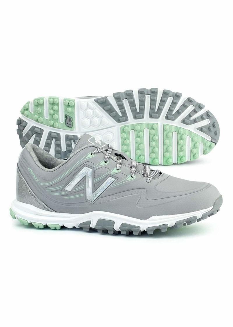 New Balance Women's Minimus WP Waterproof Spikeless Comfort Golf Shoe   M