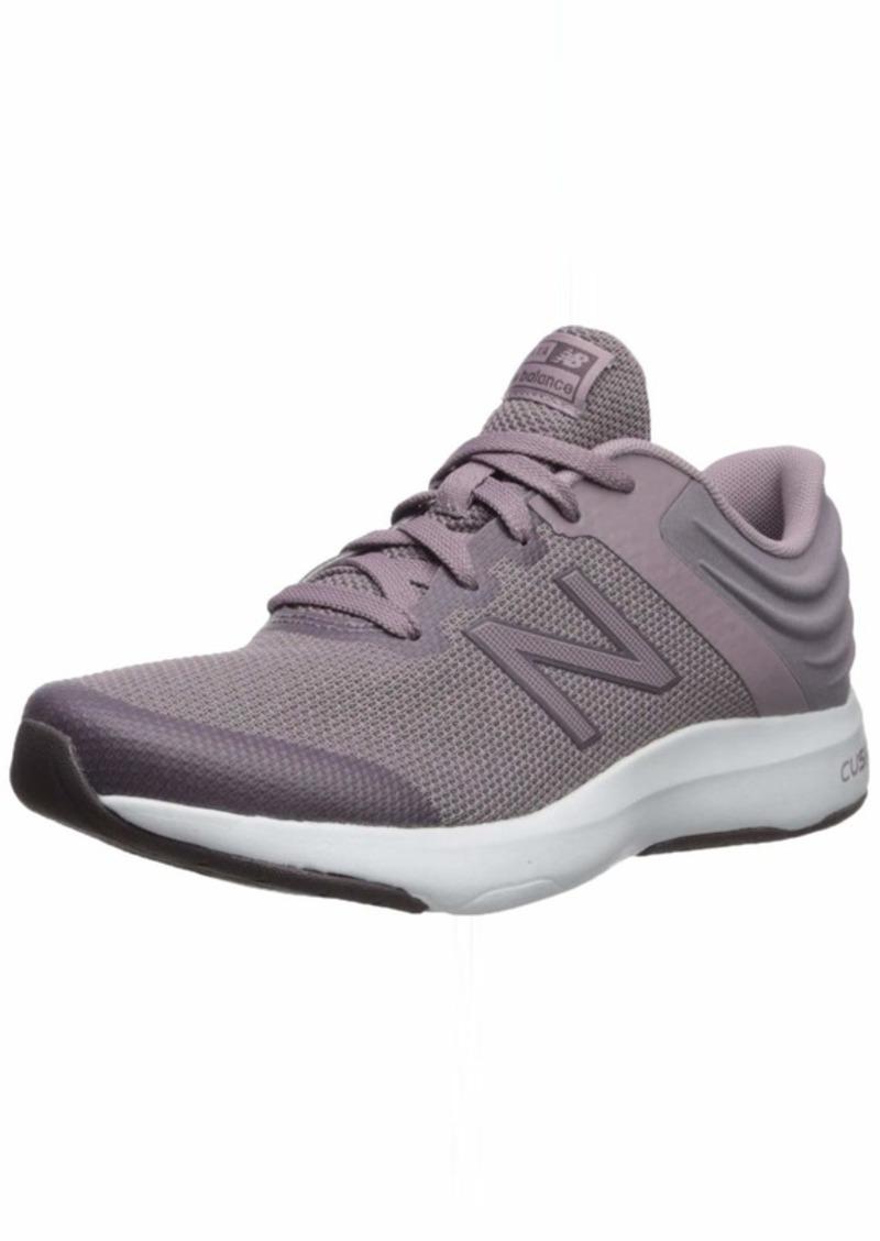 New Balance Women's Ralaxa V1 CUSH + Walking Shoe Dark Cashmere/White 5 D US