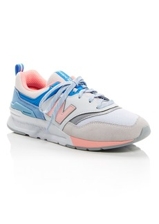 New Balance Women's 997H Mixed Media Low-Top Sneakers