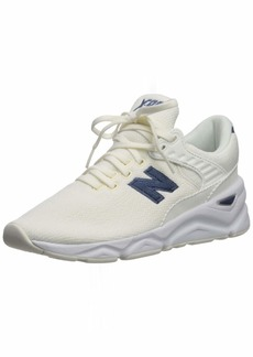 New Balance Women's X90 V1 Sneaker SEA Salt/Vintage Indigo  B US
