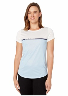 New Balance Printed Accelerate Short Sleeve V2