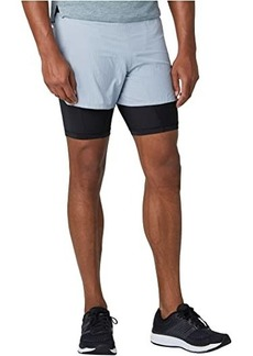 "New Balance Q Speed 5"" 2-in-1 Shorts"