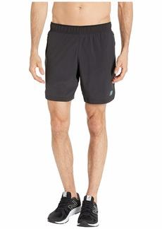 New Balance Q Speed Run Crew Shorts