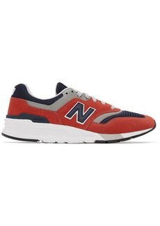 New Balance Red & Navy 997H Sneakers