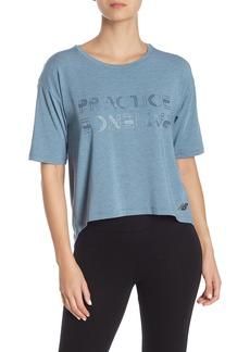 New Balance Release Split Back Graphic T-Shirt