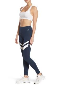 New Balance Revitalize Colorblock Stripe Leggings