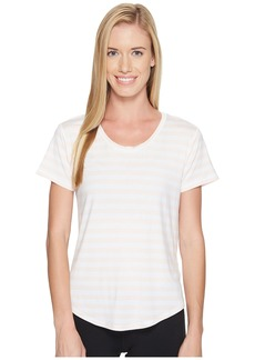 New Balance Stripe Scoop Neck Tee