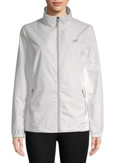 New Balance Striped Full-Zip Jacket