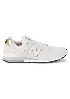 New Balance Suede & Leather Sneakers